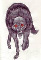 Black Dog Apparition by PacificPikachu