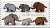 proboscidea stamp by gunsweat