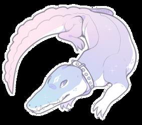pastel croc {ota} by gunsweat