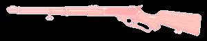 ftu   pastel pink pixel rifle divider by gunsweat
