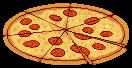 F2U | pizza pixel by gunsweat