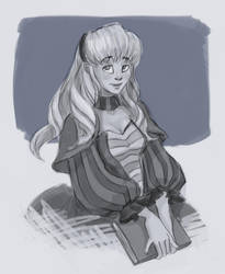 Contest Prize: Cecile by That-Black-Cat