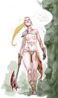 Sketch - Amazon by AZEITONA