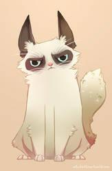 Lil Miss Grumpy by ZestyDoesThings