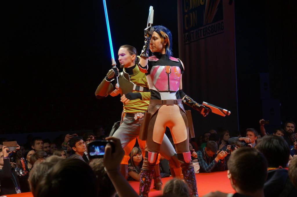 Star Wars Rebels: Kanan, Hera, Sabine by AlyonaDAngel on ...