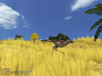 The great yellow plains 1 by Bunyupy