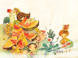 Watermelon by nguyenshishi