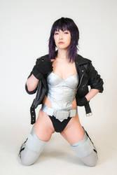 Motoko Kusanagi by AKIOMI