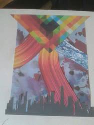 art project combination by Shinda-Tori