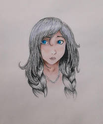 Unknown girl by Shinda-Tori