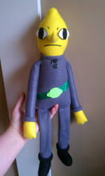 New and improved Lemongrab by TiffyyyCuppyCake