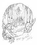 DrawForBirthday! by TinaDrawS