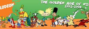 The Golden Age of Nicktoons v2.0 by jbwarner86