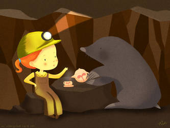 An underground cup of tea by Rinian