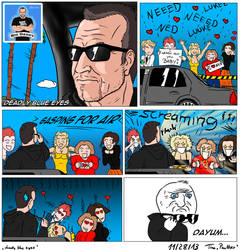 a little story about Ned luke as Michael from GTA by TinaPanther