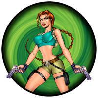 Tomb Raider Fan Art by robertofleury