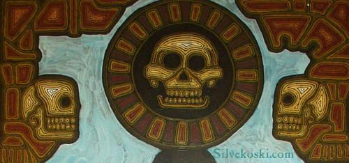 Skull Table by silvekoski