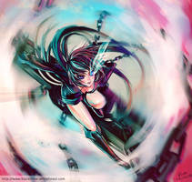 Black Rock Shooter -2 by Char-coal