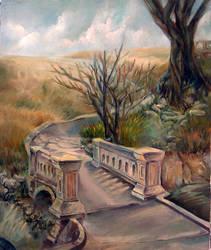 Srichange Bridge by Char-coal