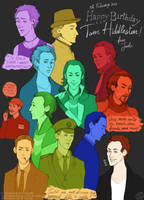 Happy Birthday, Hiddles! by VincentChan