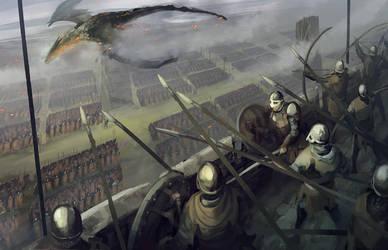 Castle siege by QuintusCassius