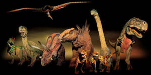 Walking With Dinosaurs by BeckyxThexWolf
