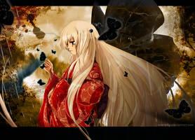 Butterfly Black by NaeNeko