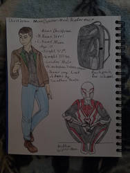 Christian Moon(Spider-Man) Reference by thelithianqueen