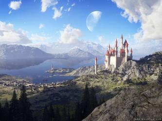 Fairy Tale Lake 2008 by moodflow