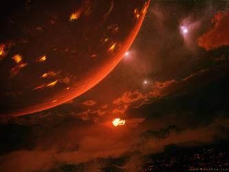 Pyroplanegenesis, 2008 by moodflow