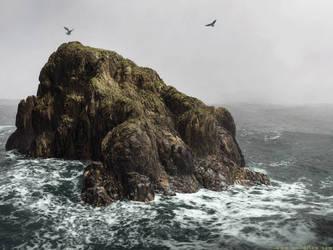 Refuge Rock by moodflow