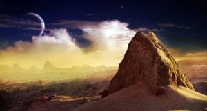 Sandy Rock - Test Image by moodflow
