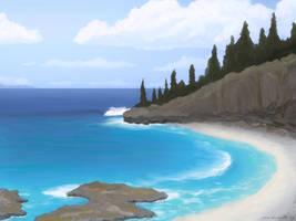 Pine Beach by moodflow