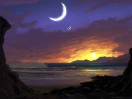 Moon's Reef by moodflow