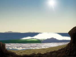 Somewhere in Baja by moodflow