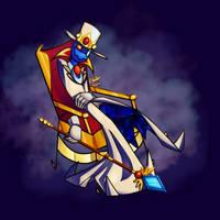Speedpaint - Royal Bleck by CowsAreSushi
