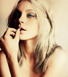 Jessica Stam Colourisation by capital-letter