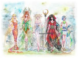 Myth Senshi :: Reboot by Valendra
