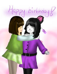 Happy birthday, MysticalSketches!! by Soleaf10