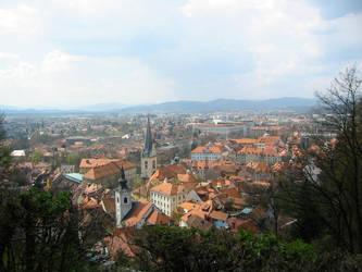 Ljubljana of Slovenia by anthropomastoras