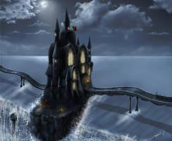 Dark Castle by ilker-yuksel