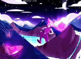 Pink Diamond Birth 3! by AndromedaeAlpha