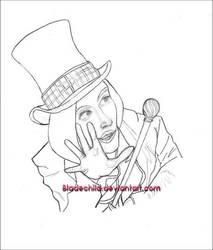 Willy Wonka  +Johnny Depp+ by Bladechild