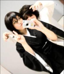 I'mma Get Ya +Rukia and L+ by Bladechild