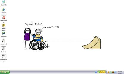 Haha, Desktop by Bladechild