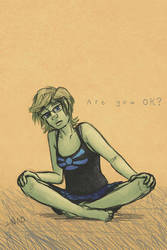 Are You Ok? by Bazzelwaki