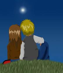 Star-Nigth-Love by MooPic