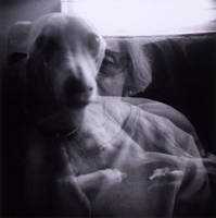 my mother and my dog. by futurowoman