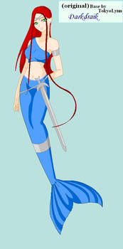 armor mermaid by darkdraik