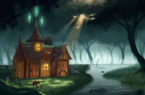 Magic house by Leaxine